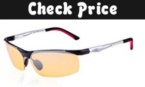 Duco yellow night vision glasses