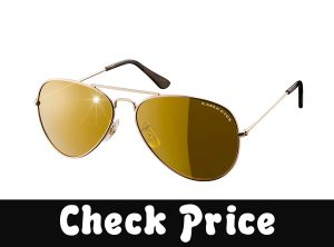 Eagle Eyes Classic Aviator Sunglasses