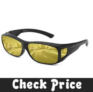dollger Night Driving Glasses Anti Glare Polarized HD Night Vision