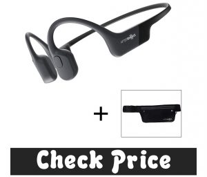 AfterShokz Aeropex Open-Ear Wireless Bone Conduction Headphones