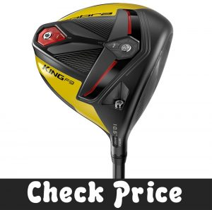 Cobra Golf 2019 F9 Speedback Headphone Satin Black-Yellow