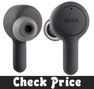 RHA Trueconnect – Carbon Black True Wireless Earbuds