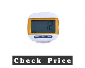Formvan LCD Pedometer For Walking Clip-On Tracker
