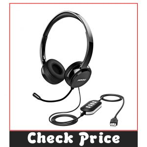 Mpow 071 USB Noise Cancelling Headset