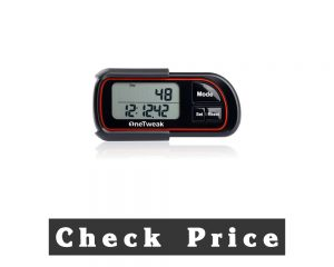 New Onetweak EZ-1 Pedometer 3D Axis Clip-On Tracker