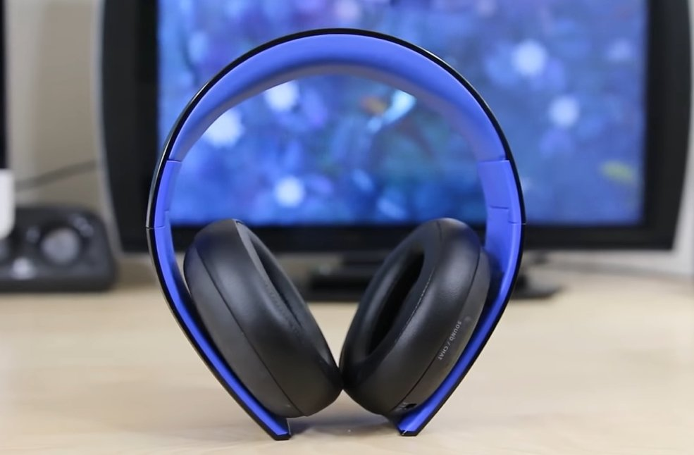 PlayStation Gold– Wireless Stereo Headset