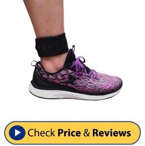 DDJOY Adjustable Ankle Band Fitness Tracker