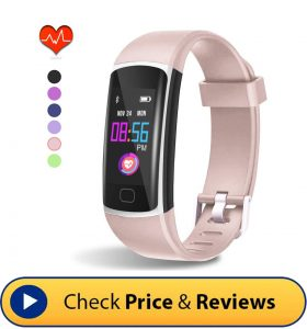 HuaWise Fitness Tracker – Waterproof Design
