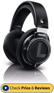 Philips SHP9500 HiFi Precision Stereo Over-Ear Headphones-min