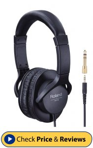 Roland RH-5 Quality Comfort-Fit Headphones