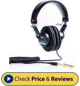 Sony MDR7506 Professional Large Diaphragm Headphone-min
