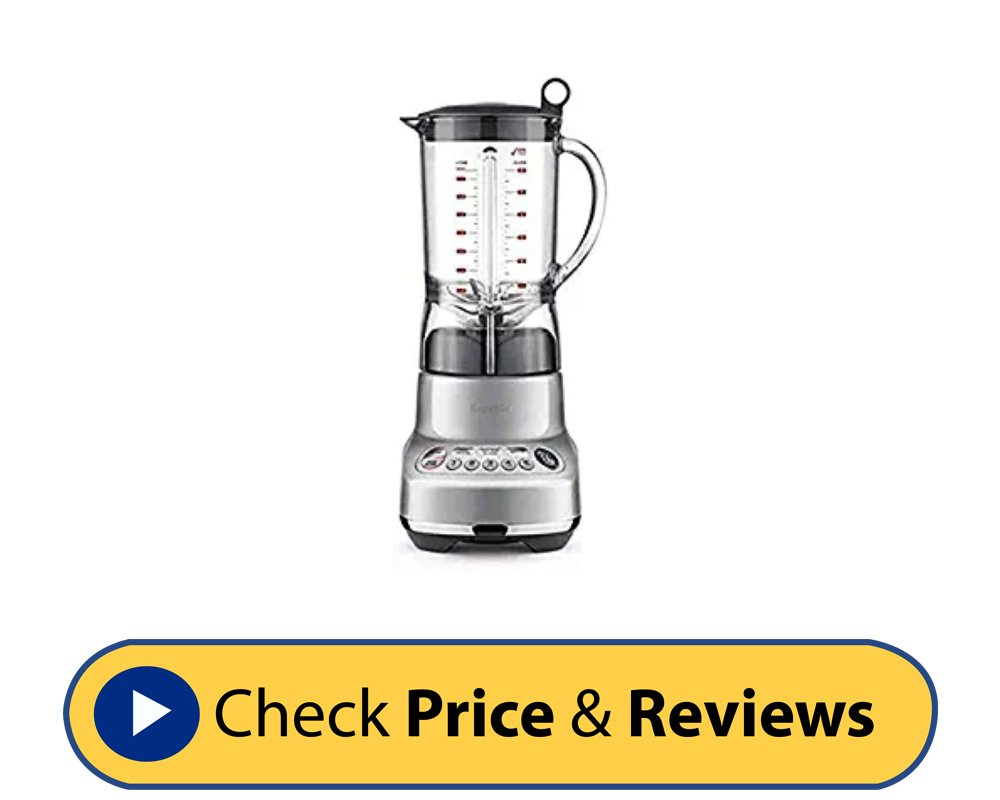 Breville BBL620 Fresh And Furious Blender In Silver