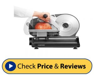 Chefman Electric Deli Food Meat Slicer