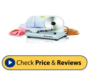 Kitchener 9-inch Professional Electric Meat Slicer