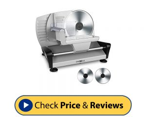 One Is All-Electric Premium Meat Slicer
