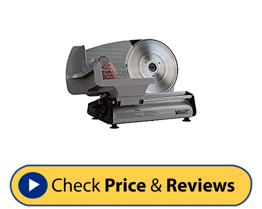 Stainless Steel Meat Slicer 8.7 Inches