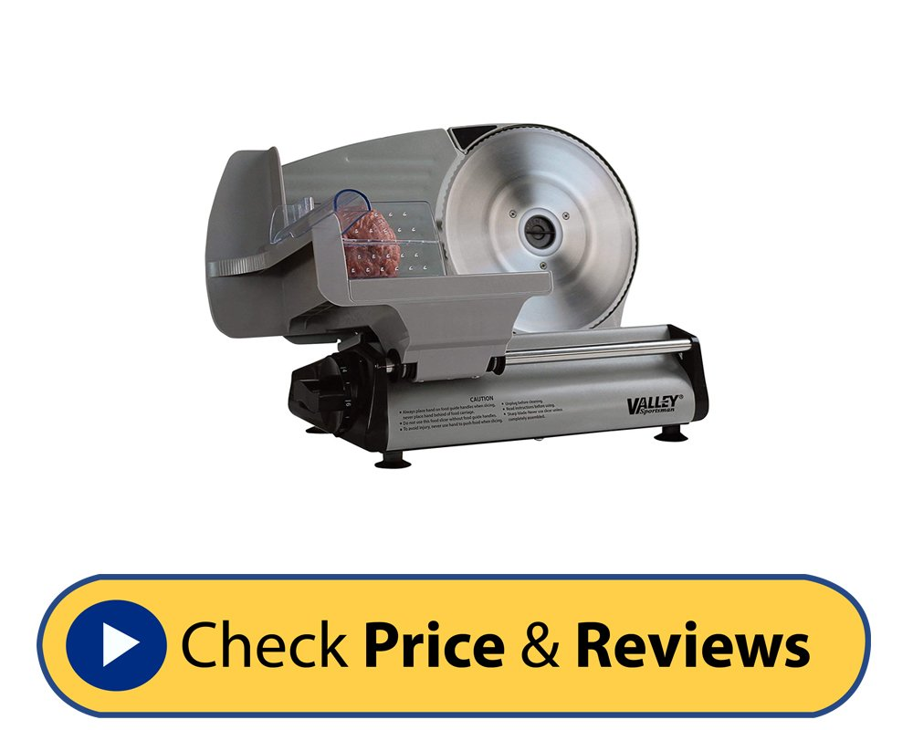 Valley Stainless Steel Meat Slicer
