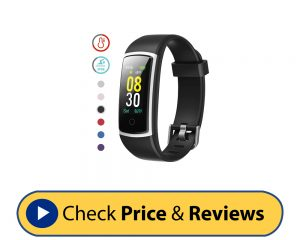 YAMAY Fitness Tracker with Blood Pressure Monitor Heart Rate Monitor