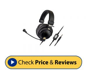 Audio-Technica ATH-PG1 Closed Back Gaming Headset