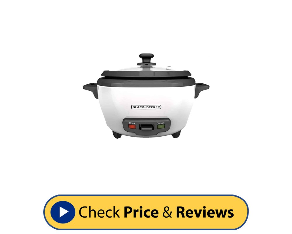 BLACK + DECKER 6 Cup Cooked Rice Cooker